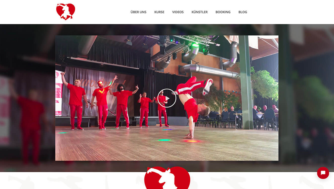 Art by Heart - Website-Screenshot